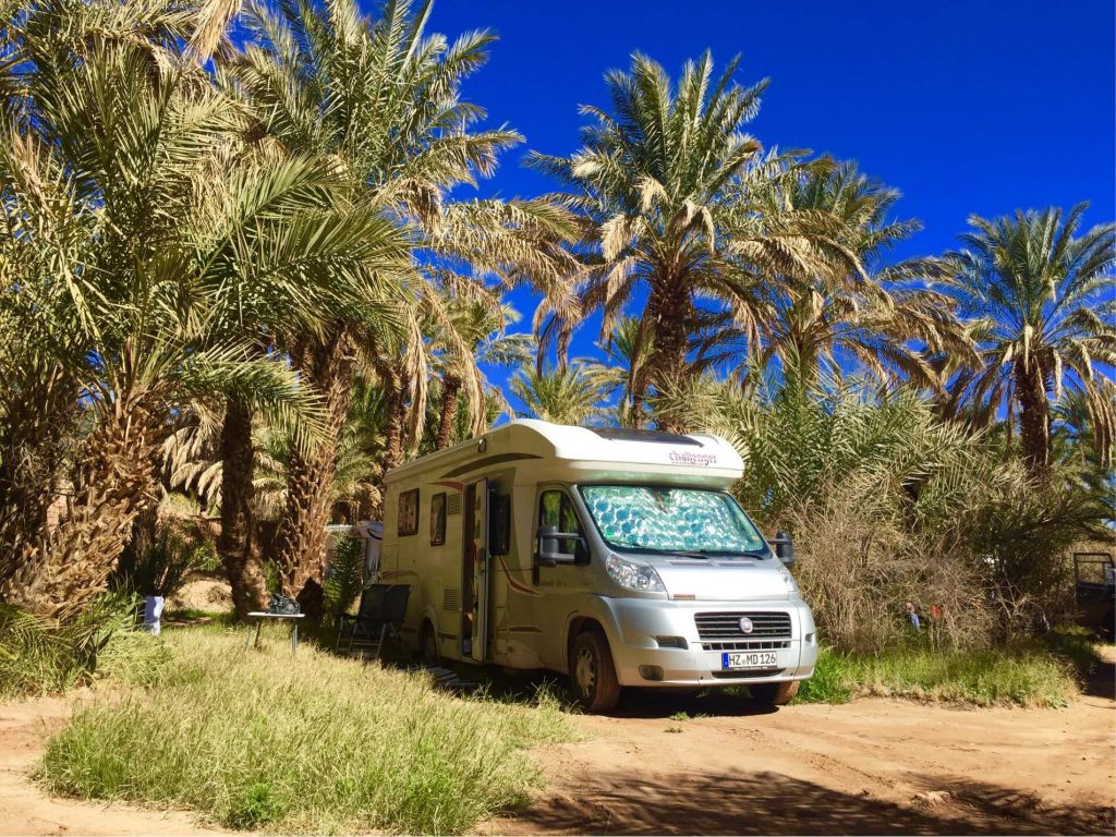 Camping in der Oase