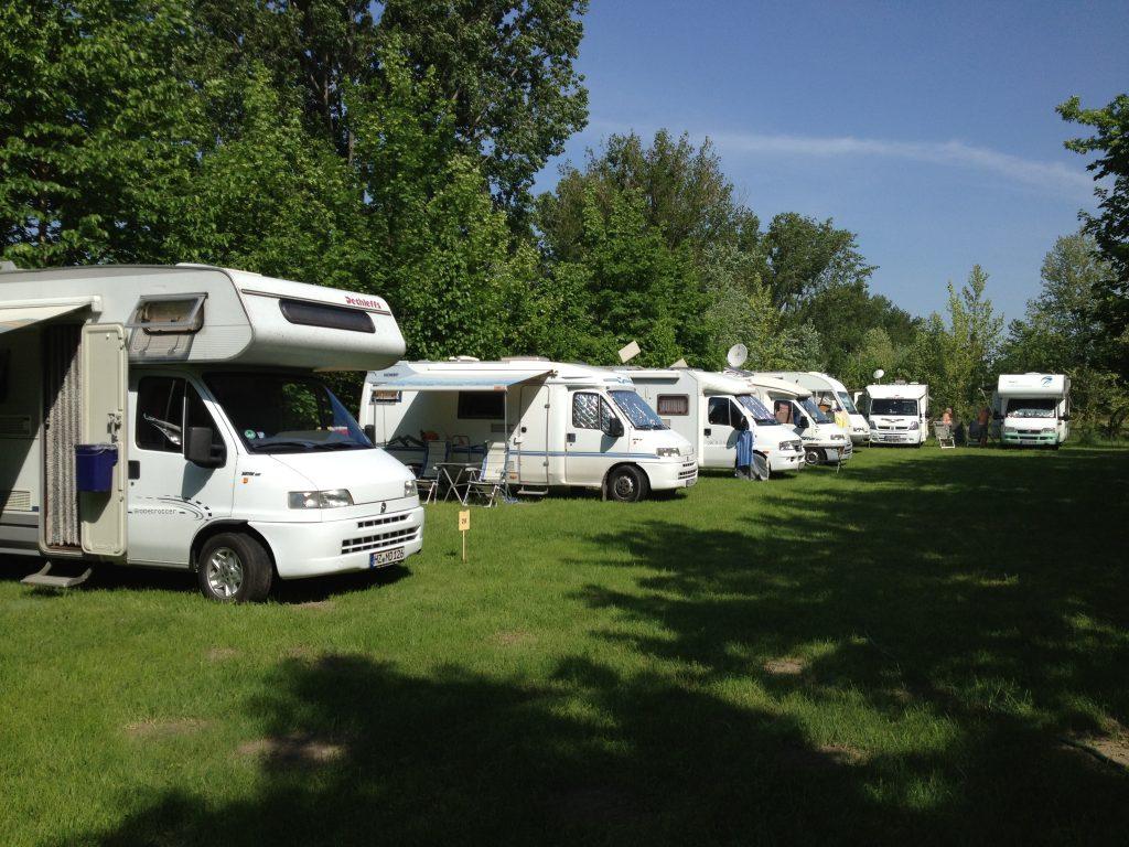 Camping in Ungarn