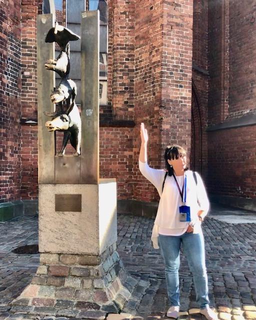 Hier erfahren wir, wie die Bremer Stadtmusikanten nach Riga kamen