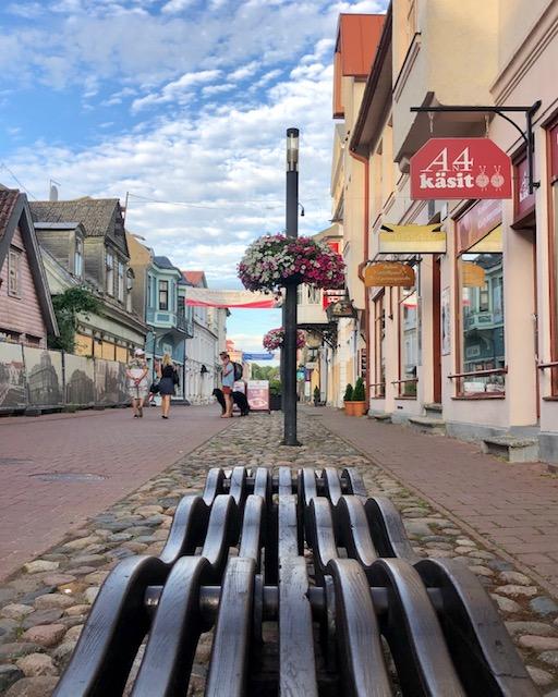 Pärnu ist die Sommerhauptstadt der Esten