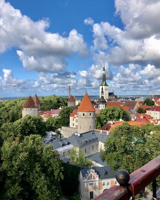 Blick auf die Altsatdt Tallinn